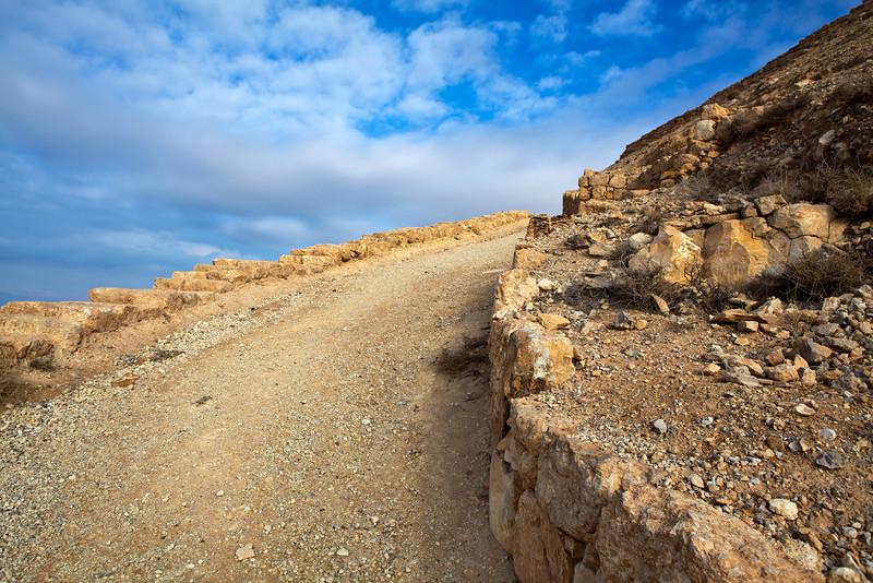 MKAWER. PATH TO THE HERODUS CASTLE. JORDAN. [3]