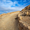 MKAWER. PATH TO THE HERODUS CASTLE. JORDAN. [3]