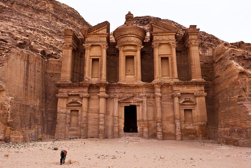 PETRA. UNESCO WORLD HERITAGE SITE. THE MONASTERY. JORDAN. [2]