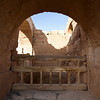 AMRA CASTLE. (AN UNESCO WORLD HERITAGDE SITE). DESERT CASTLES. JORDAN. MIDDLE EAST.