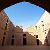 KHARANEH CASTLE. DESERT CASTLES. JORDAN. <br /> Qasr el-Kharaneh Castle