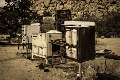 Old appliances.