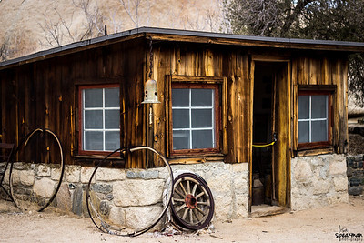Bunk house at the Key's Ranch.