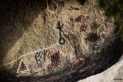 How the hell do you spell petroglyphs?