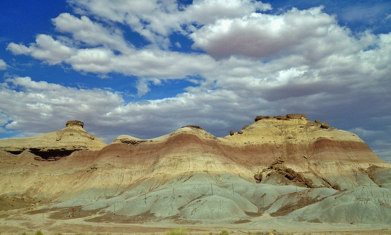 "July 28  Painted Desert, Arizona<br /> <br /> '... because there was nowhere to go but everywhere, keep rolling under the stars..."" <br /> ― Jack Kerouac, On the Road"