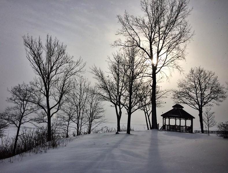 December 17. Montreal to Trois Rivieres.<br /> <br /> Quebec...La Belle Province.   Je me souviens.