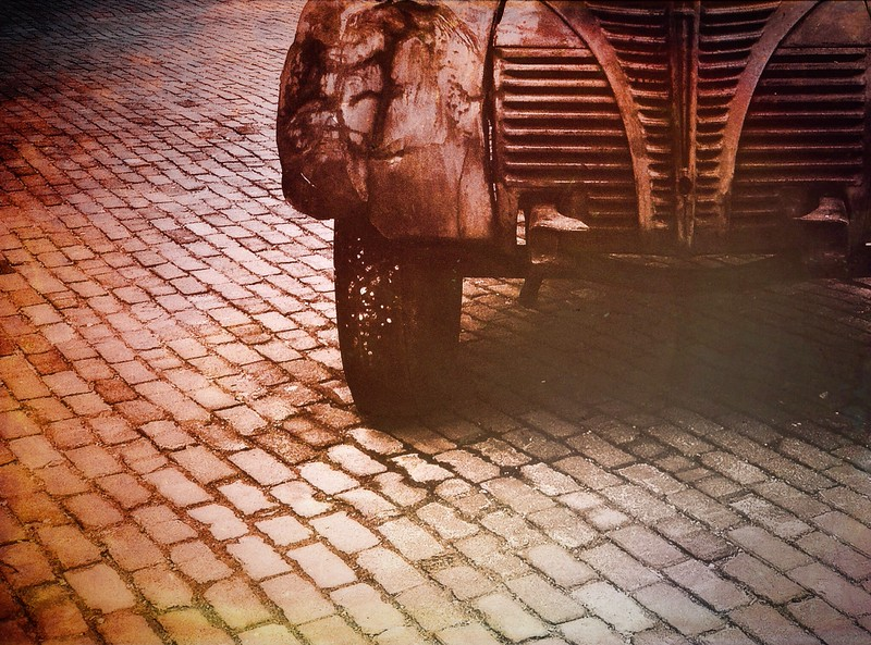 April 4  Distillery District, Toronto<br /> <br /> Rust never sleeps.