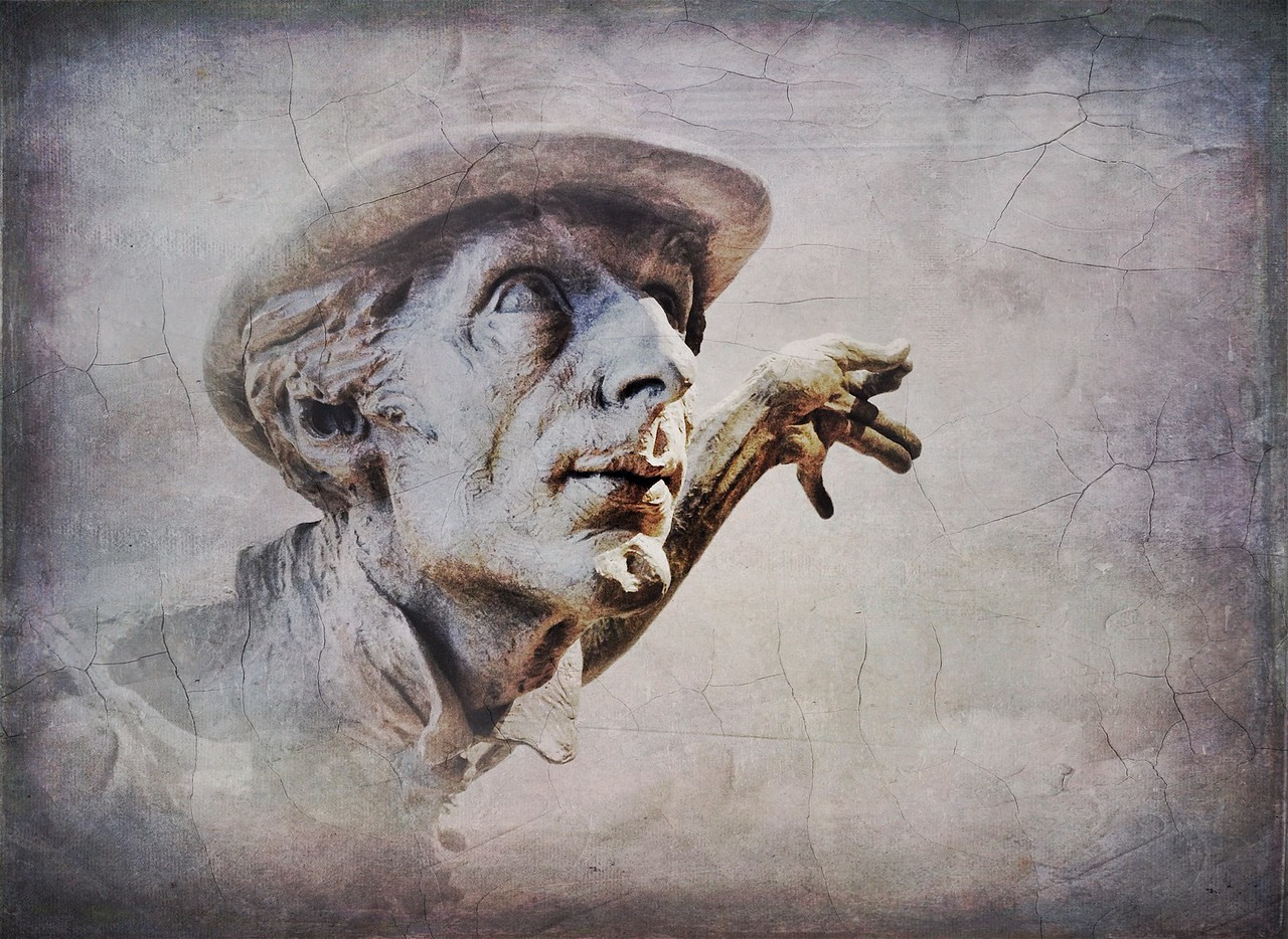 """July 31  Bellagio, Las Vegas<br /> <br /> Sensory overload and some sculptures by Richard MacDonald<br /> <br /> """"Truth is for life; lies are for entertainment."""" <br /> ― M Chapman"""