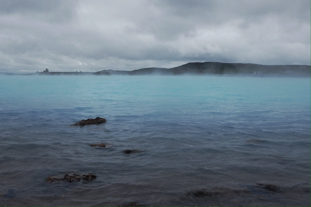 June 28 Thermal pool in North Iceland<br /> <br /> The turquoise silence.