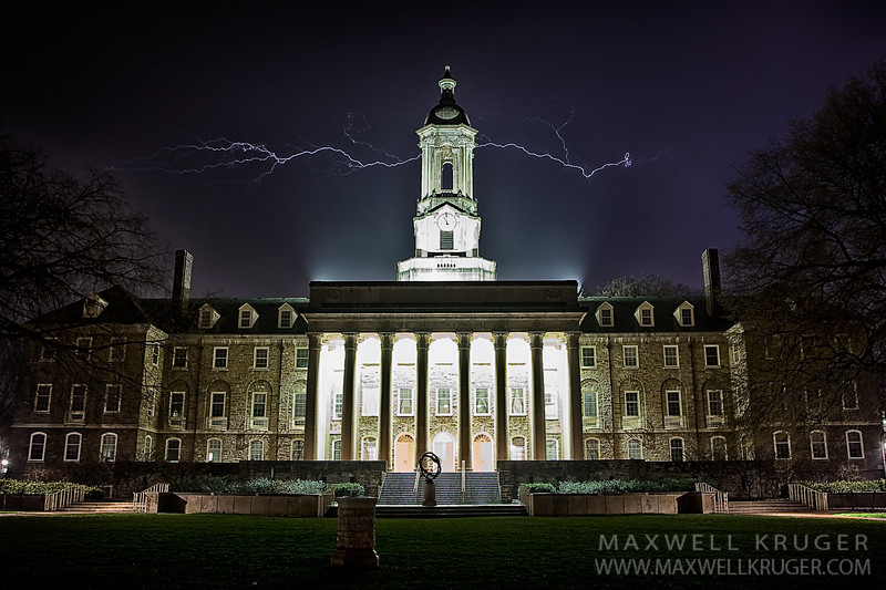 Penn State Old Main<br> 2007
