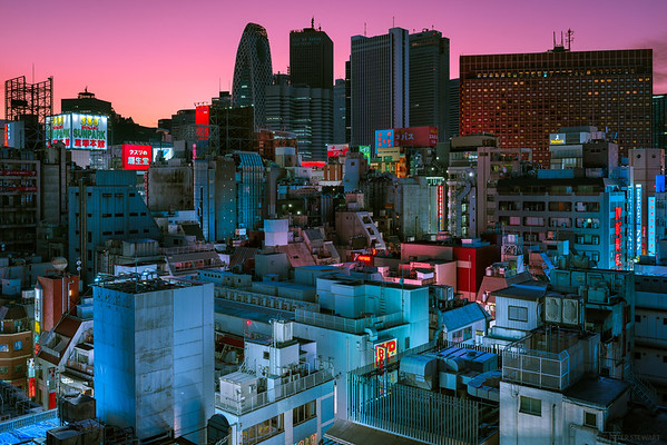 Twilight in Kabukicho