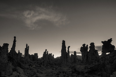 Rock Concert at Mono Lake