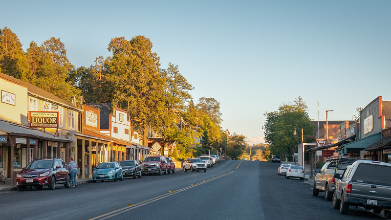 Main street of Julian, California