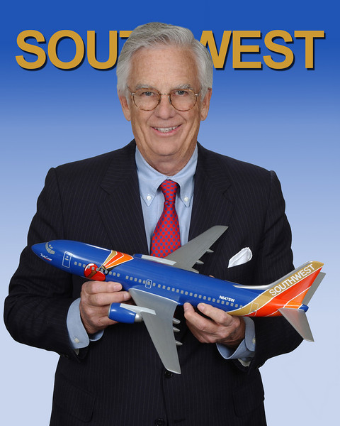Rollin King - co-founder of Southwest Airlines
