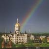 """Rainbow over Hartford, CT """