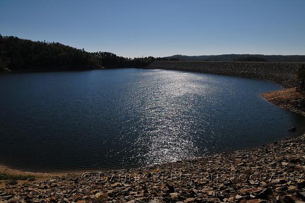 Broken Bow Lake at the dam.
