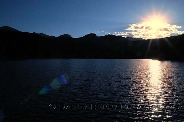 Sprague Lake sunset