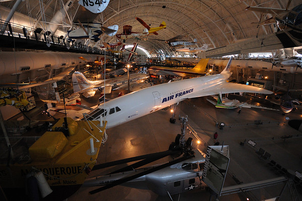 Washington DC - Air and Space Museum - Udvar Hazy