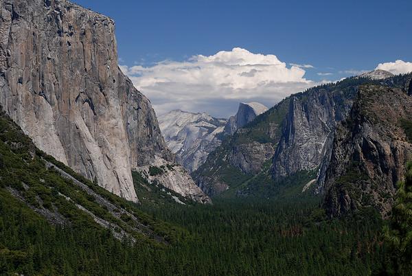 dpotd030409 Yosemite National Park - Tunnel View