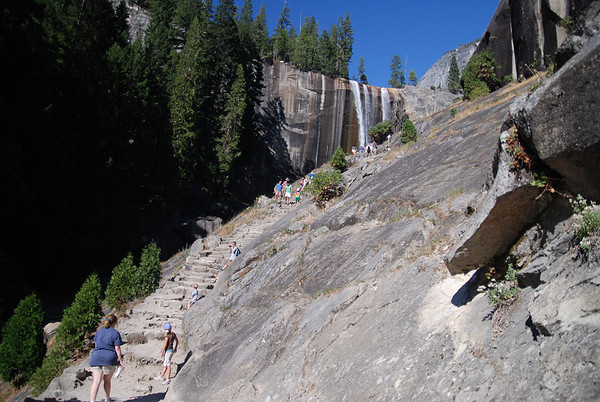 Hike to Vernal Falls.