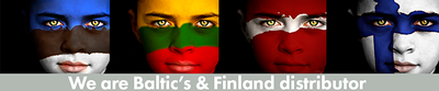 Baltic's and Finland distributor