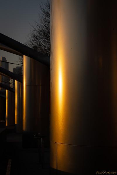 Glowing Columns