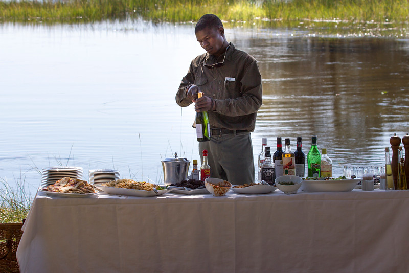 Picnic Lunch at Eagle Island Camp