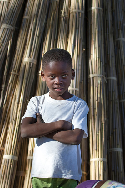 Beautiful Boy in Xaxaba Village