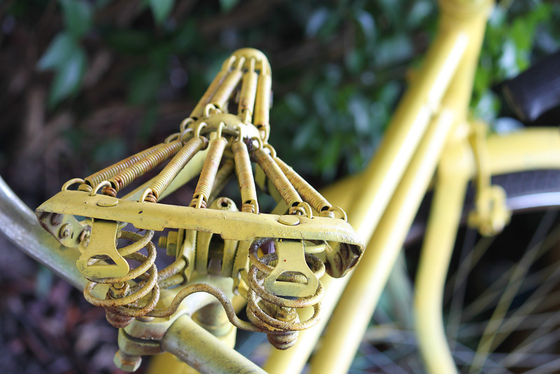 Old Bike Seat