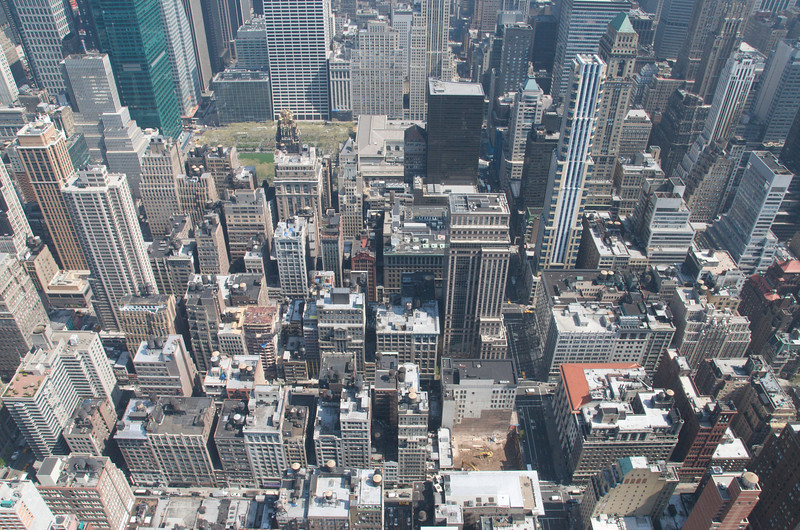 Blick in die Strassen von NY (Norden)