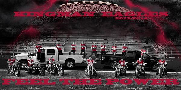 2013 KHS Senior Football Image