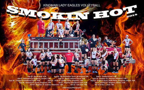 2014 KHS Volleyball