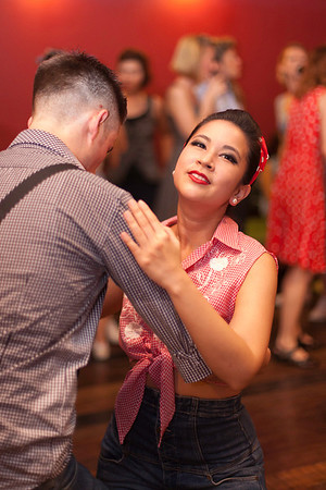 """Billy Blues"": Rockabilly and Blues Party at The Hop, Silom, Bangkok."