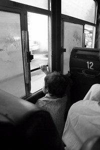 On a bus from Ajmer to Jaipur.  © 2011 KT WATSON