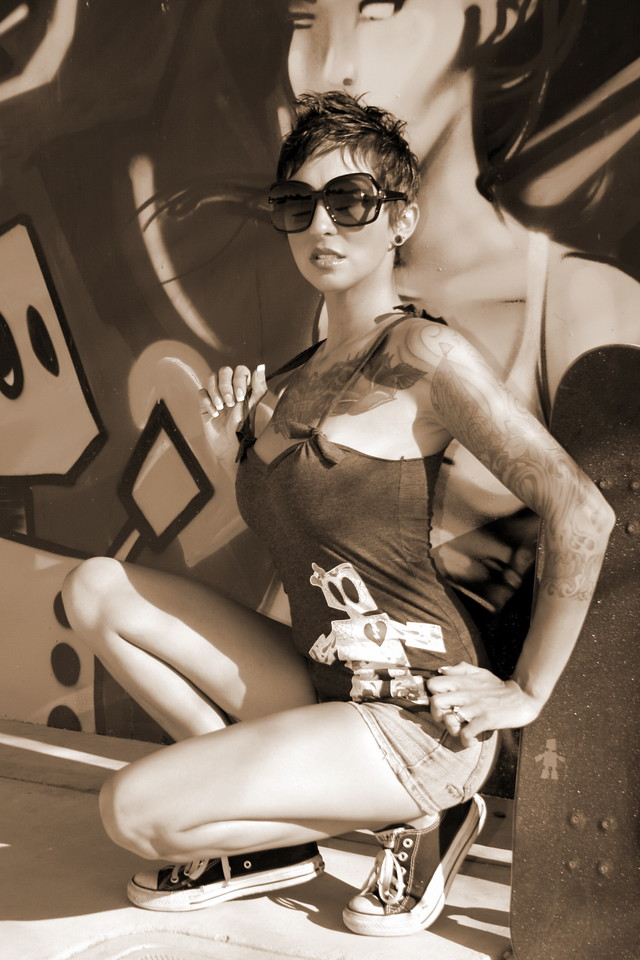 Model: Kae Bee Photographer: Eric Corrus Hanford California Copyright 2011  All rights belong to their respective owners