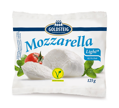 523699 GOLDSTEIG Mozzarella juust light 125g 4008432026687