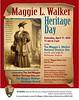 Maggie L. Walker Heritage Day 2010 poster