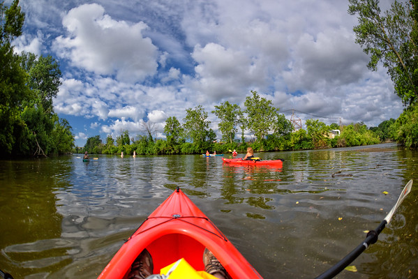 Kayaking on the Black River