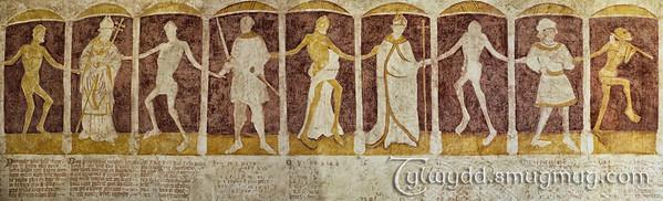 Danse Macabre -  Chapelle de Kermaria An Iskuit