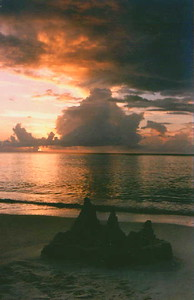 Grand Caymen Island Sunset, Christmas Day