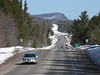 U.S. Hwy 41 winds along the spine of the Keweenaw Peninsula, near Ahmeek, Mich. on Saturday, Mar. 18, 2006.  This driving route has been identified as one of the Top 25 drives in America by Popular Mechanics magazine.