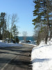 A scene along the shore of Lake Superior on state route M-26 in Keweenaw County,  Mich. on Saturday, Mar. 18, 2006.  This driving route has been identified as one of the Top 25 drives in America by Popular Mechanics magazine.