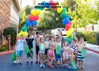 Kids Triathlon Montecito Heights 2014