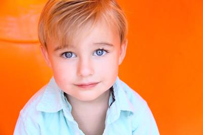 Young Boy's Headshot
