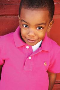 Headshot of Young Boy