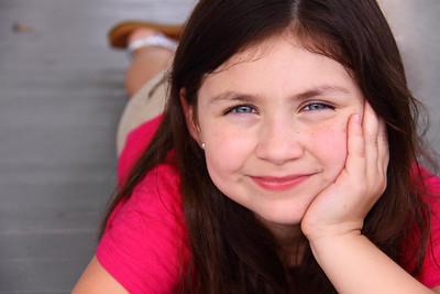 Young Girl's Headshot