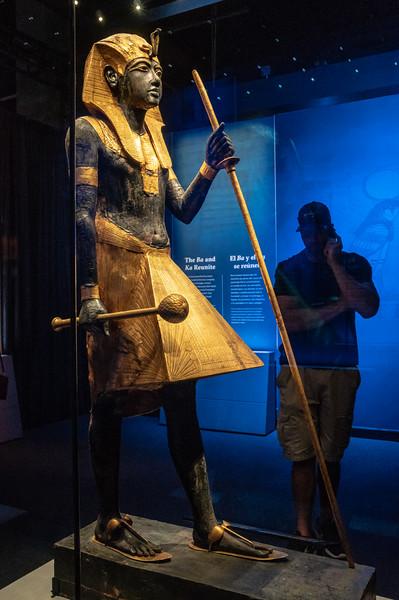 King Tut Ka Guardian Statue