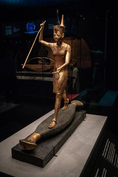Tutankamun with a Harpoon