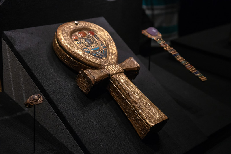 Mirror Case in the shape of an ankh