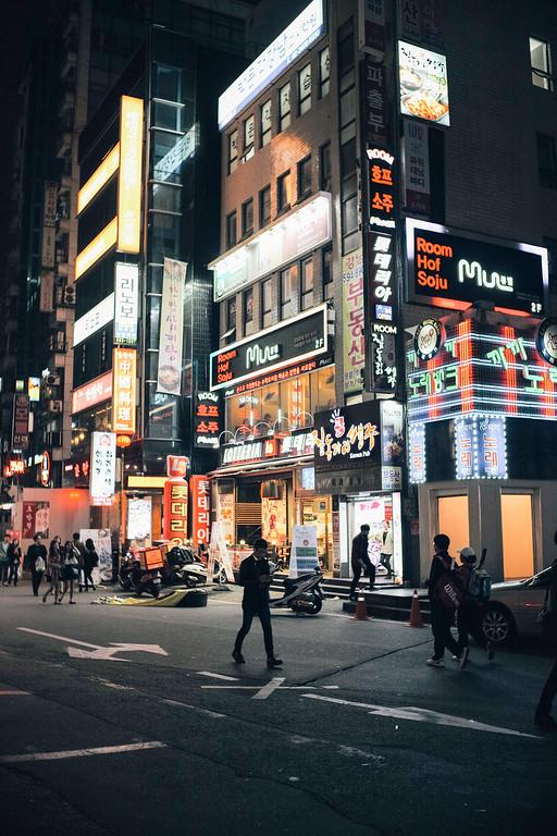 Night in Gangnam